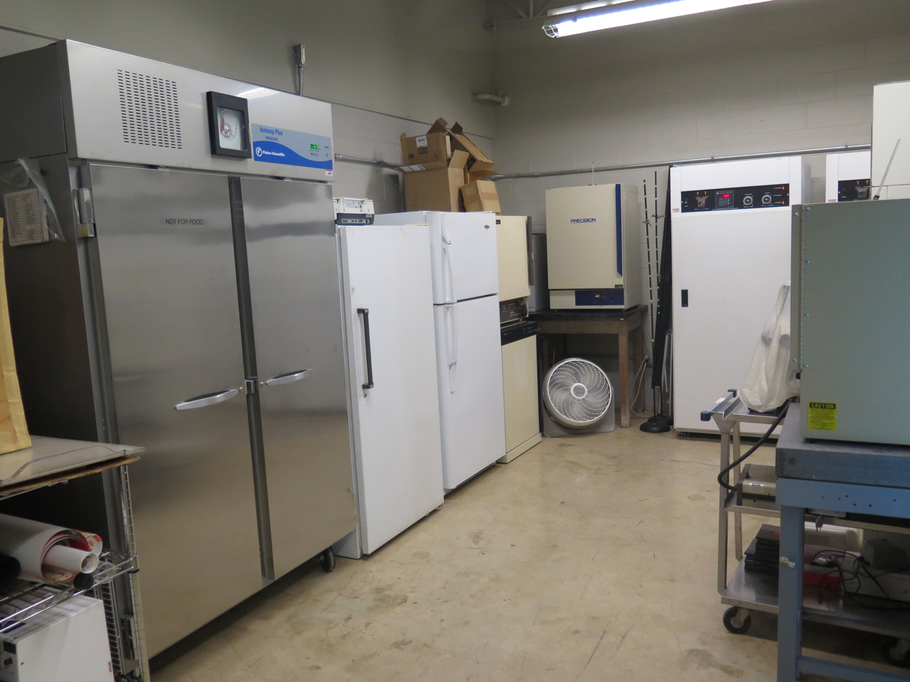 Freezers, Refrigerators