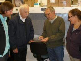 Dr. Grobman visits OPGC